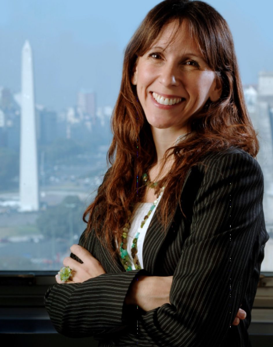GSG Argentina and Uruguay contacts, Maria Fernanda Mierez profile headshot